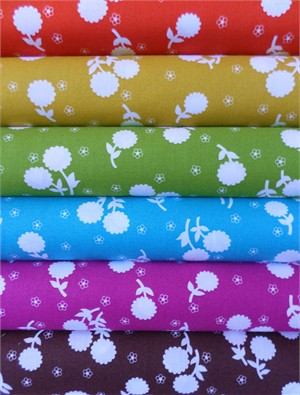 Jennifer Paganelli, Girls World Vibe, Anastasia Sampler in FAT QUARTERS 6 Total