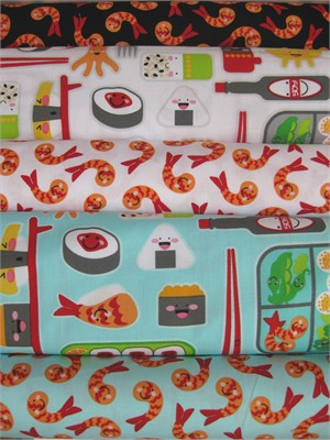 Jill Simmons, Bento Box in FAT QUARTERS 5 Total