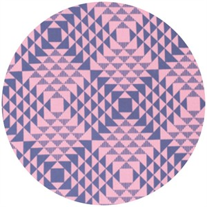 Joel Dewberry, Atrium, Pyramids Pink