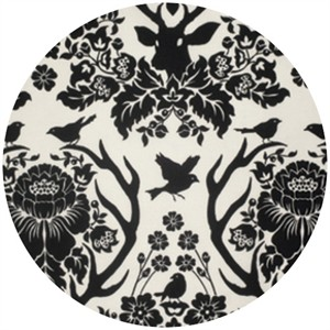 Joel Dewberry, Birch Farm, Antler Damask Black
