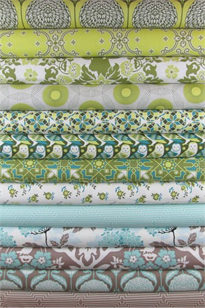 Joel Dewberry, Birch Farm, Sage in FAT QUARTERS 12 Total