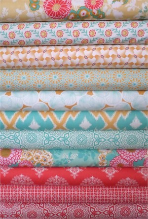 Joel Dewberry, Botanique, Chateau Chic in FAT QUARTERS 12 Total