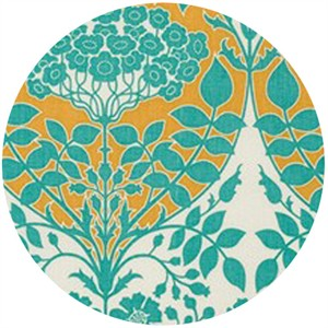 Joel Dewberry, Botanique, Leafy Damask Teal