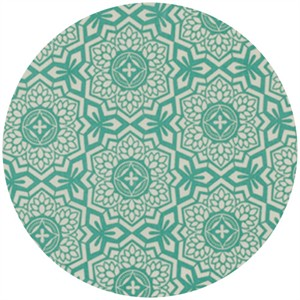 Joel Dewberry, Botanique, Mosaic Bloom Teal