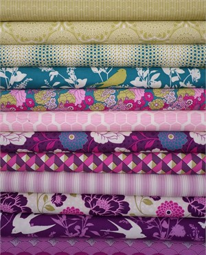 Joel Dewberry, Bungalow, Daybreak 12 FAT QUARTERS in Total