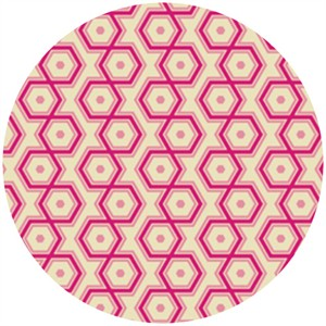 Joel Dewberry, Notting Hill, Hexagons Magenta