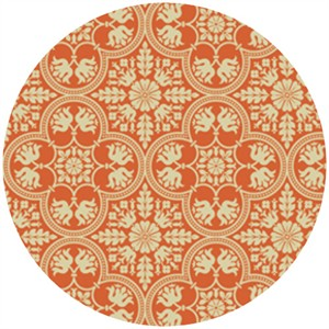 Joel Dewberry, Notting Hill, Historic Tile Tangerine