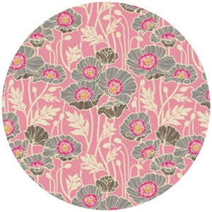 Joel Dewberry, Notting Hill, SATEEN, Pristine Poppy Pink