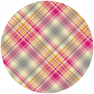Joel Dewberry, Notting Hill, SATEEN, Tartan Pink