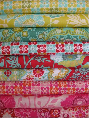 Joel Dewberry, Notting Hill, VOILE Sampler in FAT QUARTERS 9 Total