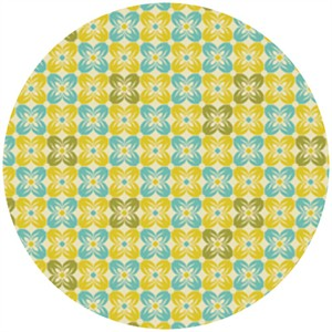 Joel Dewberry, Notting Hill, VOILE, Square Petals Citron