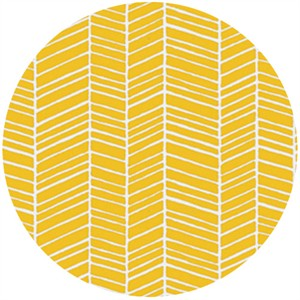 Joel Dewberry, True Colors, Herringbone Yellow