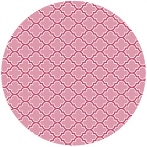 Joel Dewberry, True Colors, Lodge Lattice Pink