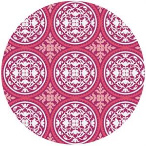 Joel Dewberry, True Colors, Scrollwork Deep Pink