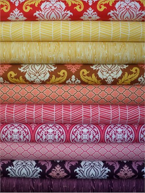 Joel Dewberry, True Colors, Summer in FAT QUARTERS 10 Total