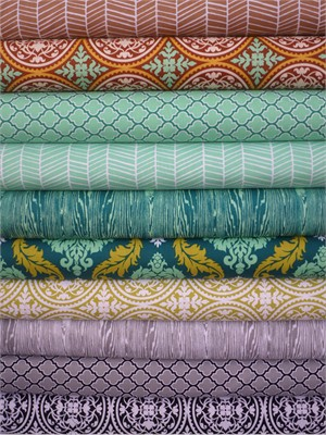 Joel Dewberry, True Colors, Winter in FAT QUARTERS 10 Total