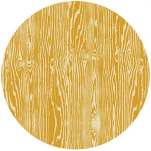 Joel Dewberry, True Colors, Wood Grain Yellow