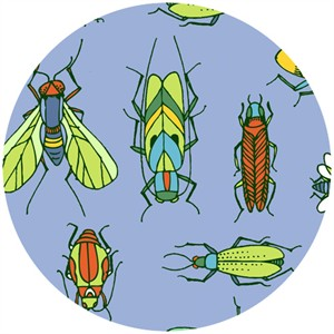 Jone Hallmark for Blend, Bugs, Magnified Blue