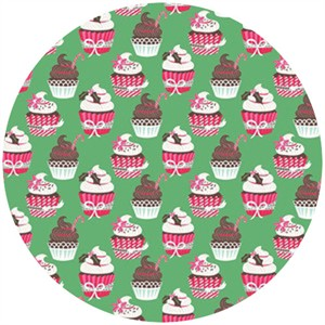 Josephine Kimberling, Sugar Rush, Holiday Cupcakes Green