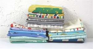 Japanese and/or Organic Scrap Pack - Neutral (2 Yards by Weight)