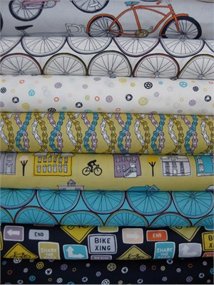 Julia Rothman, Ride in FAT QUARTERS, 8 Total