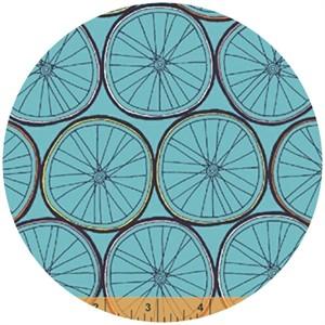 Julia Rothman, Ride, Wheels Aqua