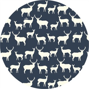 Jay-Cyn Designs for Birch Organic Fabrics, Elk Grove, KNIT, Elk Fam Dusk