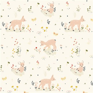 AVAILABLE FOR PREORDER, Jenny Lumelsky for Birch Organic Fabrics, Little, KNIT, Little Deer