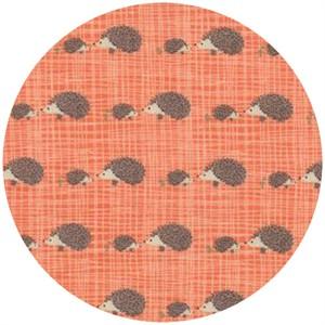Kate and Birdie Paper Co., Bluebird Park, Hedgehogs Tangerine