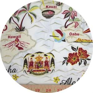 Kawaii from Hawaii, Island Hopping White