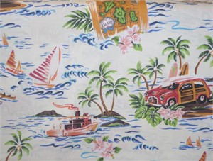 Kawaii from Hawaii, Surfin Safari Cream