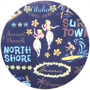 Kawaii from Hawaii, Surf Town Black