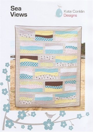 Kate Conklin Designs, Sea Views Quilt Pattern