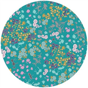 Katarina Roccella for Art Gallery, Indelible, Floret Stains Tealberry