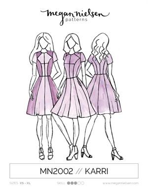 Megan Nielsen, Sewing Pattern, Karri Dress