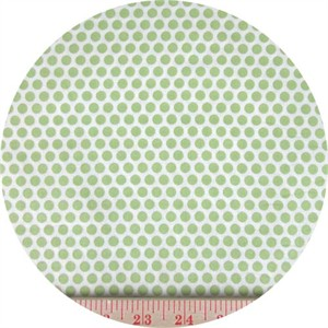 Kei, Honeycomb Dot Reversed Light Green