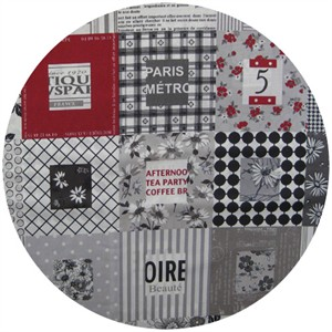 Kei Japan, Paris Patch Black/White