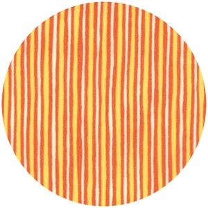 Keiki, Mind Your P's and Q's, Stripes Tangerine/Sunshine
