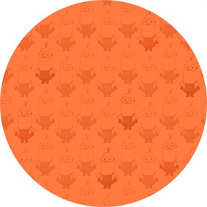 Quilting Treasures, Minions, Kevin Tonal Blender Orange