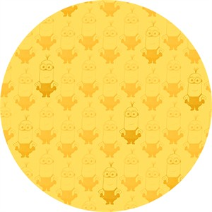 Quilting Treasures, Minions, Kevin Tonal Blender Yellow