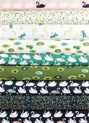 Patrick and Andrea Patton for Birch Organic Fabrics, Swan Lake, KNIT 9 Total