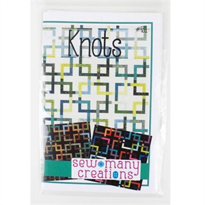 Sewing Pattern, Sew Many Creations, Knots Quilt