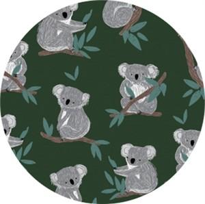 Dear Stella, Wild & Free, FLANNEL, Koala Bears Forest