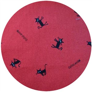 Kokka Japan, Cocoland Cats, Cat Scatter Red