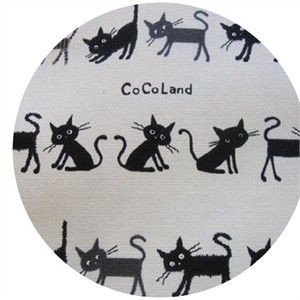 Kokka Japan, Cocoland Cats, Cocoland Cats Cream