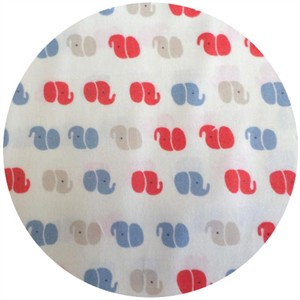 Kobayashi, BRUSHED COTTON, Elephant Silhouette Multi