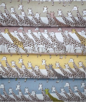 Kobayashi, Giraffes in FAT QUARTERS 4 Total