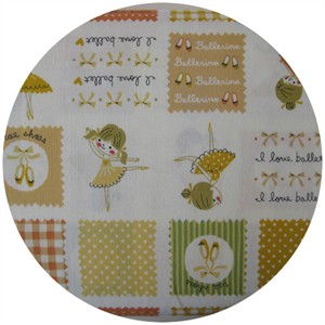 Kokka Japan, Ballerina Swatch Retro