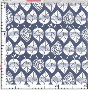 Kokka Japan, Birdie Trees Navy