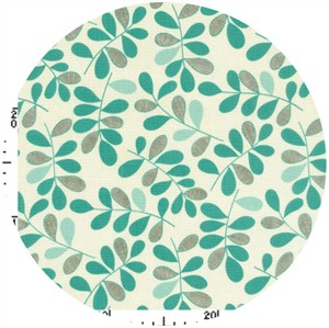 Kokka Japan, Graphic Leaves Aqua
